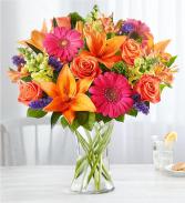 Vibrant Medley vase