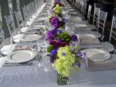 Vibrant Modern Classic Table Setting