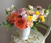 Vibrant Pastel Compote Arrangement