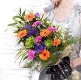 Vibrant Presentation Bouquet