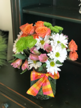 Vibrant Smile Bouquet Vase Arrangement