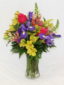 Vibrant Spring Vase Arrangement