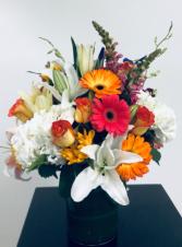 Vibrant Summer  Birthday Flowers