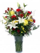 Vibrant Vision Vase Arrangement