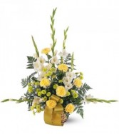 Vibrant Yellow Basket TF187-2 Vibrant Yellow Basket