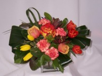 Vibrantly Fresh Flowers, Roses Just For You Prince George BC Florists - AMAPOLA BLOSSOMS
