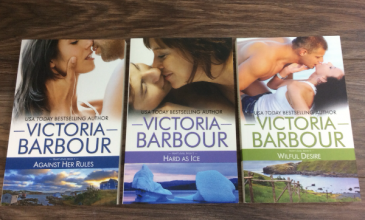 Victoria Barbour book 1, 2 & 5 NL books