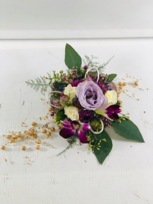 Victorian Corsage  Corsages in North Bend, OR   PETAL TO THE METAL FLOWERS