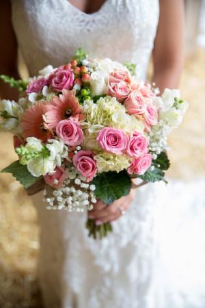 Victorian garden bouquet