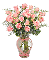 Victorian Pink Delight Spray Roses