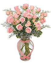 Victorian Pink Delight Spray Roses
