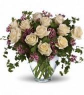 Victorian Romance Vase Arrangement