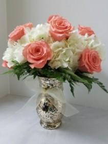 Victorian Romance Vased Roses