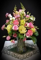 Victorian Splendor Vase