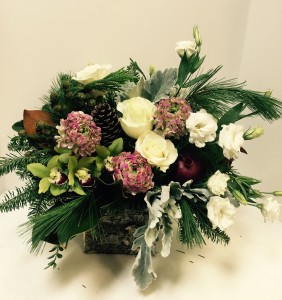Victorian Winter  in Northport, NY | Hengstenberg's Florist