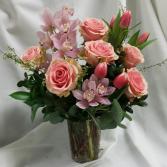 Vintage Blush Bokay Fresh Floral Design