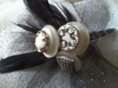 Vintage button bouts