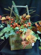 Vintage Charm  Silk Floral Arrangement