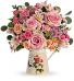 Vintage Chic Bouquet Pitcher Arrangement