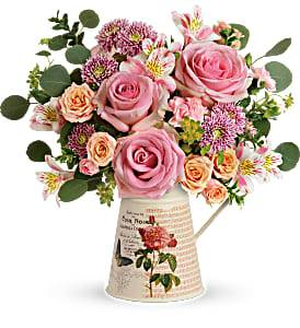 Vintage Chic Bouquet T19M305A Mother's Day