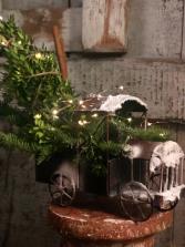 Vintage Christmas center piece