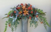 Vintage Fall Arbor Arrangment Arbor Spray