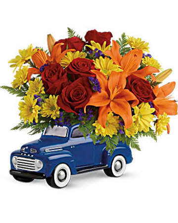 Vintage Ford Pickup Bouquet  every day