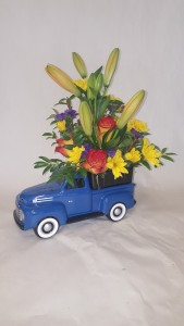 Vintage Ford Teleflora Arrangement