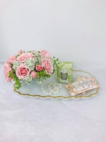 Vintage Fresh Floral Tea Cup & Scents