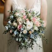 Vintage heart shape bouquet Wedding Bouquet