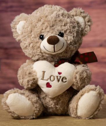 Vintage Love Bear Valentine's Day