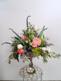 Vintage Romance  Fresh Arrangement