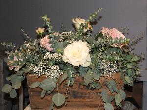 Vintage Romance Wedding Flowers in Herndon, PA   BITTERSWEET DESIGNS BY LORRIE