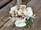 Vintage Rose Wrist Corsage Prom