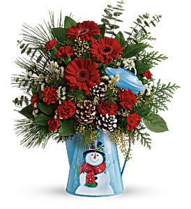 Vintage Snowman Bouquet Christmas