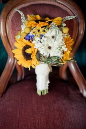 Vintage Sunflower Bouquet