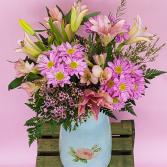 Vintage Treasure  Vase Arrangement