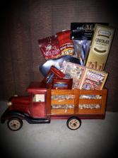 Vintage Truck Gift Pack Gift Basket