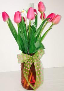 Vintage Tulips Mother's Day Arrangement