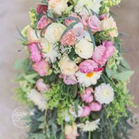 Not for the Faint of Heart Vintage Wedding Bouquet in Dryden, NY | ARNOLD'S FLOWER SHOP