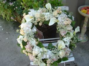 Vintage Wreath Wreath in Murphys, CA | COUNTRY FLOWER HUTCH