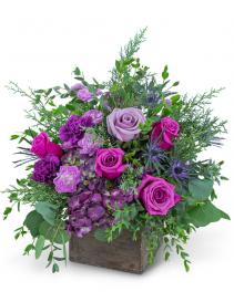 Violet Enchantment Flower Arrangement