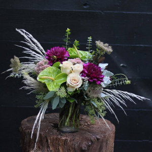Violet Fall   in Oakville, ON | ANN'S FLOWER BOUTIQUE-Wedding & Event Florist