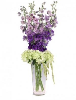 Violet Fields Bouquet in Northport, NY | Hengstenberg's Florist