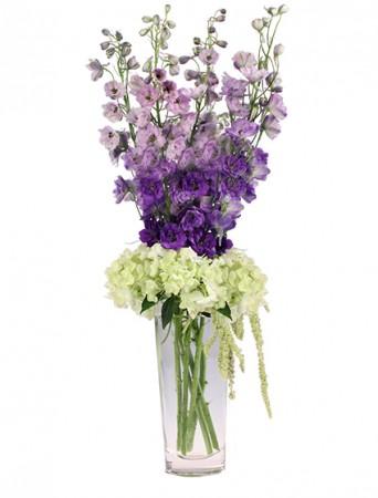 Violet Fields Bouquet