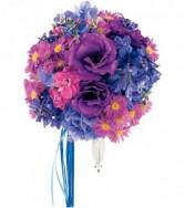 Violet Spectrum Nosegay HF1675