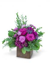 Violet Woods Flower Arrangement