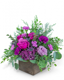 Violet's Song Flower Arrangement