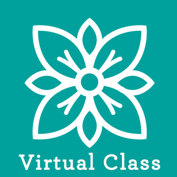 Virtual Floral Class On-line ZOOM