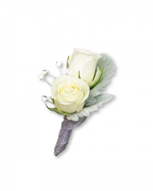 Virtue Boutonniere Corsage/Boutonniere in Nevada, IA | Flower Bed